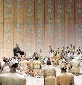 Confucio e i suoi discepoli